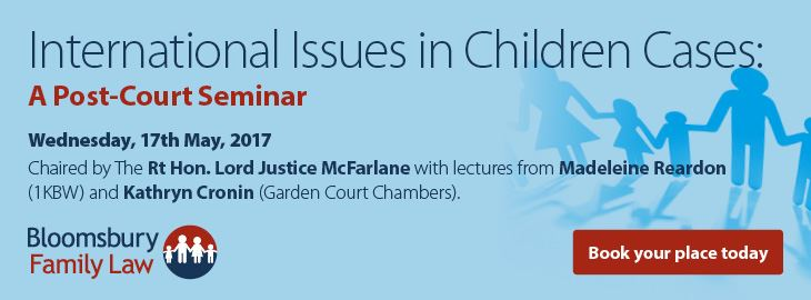 New - International Issues in Children Cases