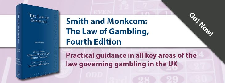 The Law of Gambling 4th Ed