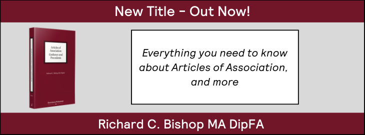 Articles of Association: Guidance and Precedents