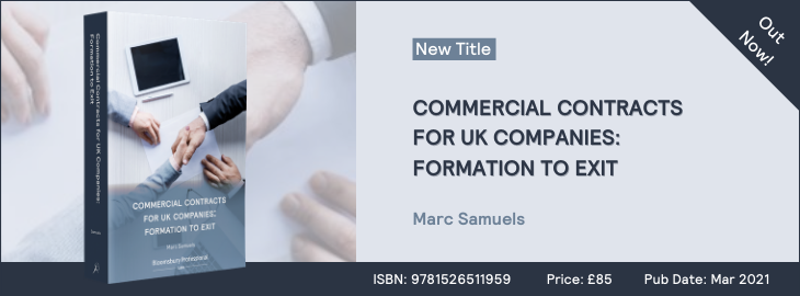 Commercial Contracts for UK Companies: Formation to Exit