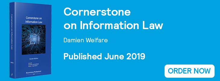 Cornerstone on Information Law Website Banner