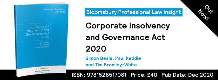 Corporate Insolvency and Governance Act 2020