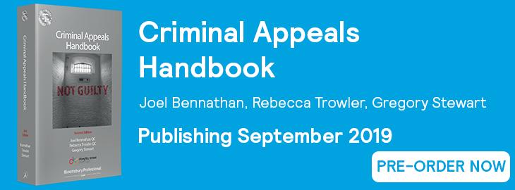 Criminal Appeals Handbook