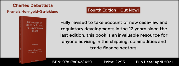 Debattista on Bills of Lading in Commodities Trade (4th Ed)