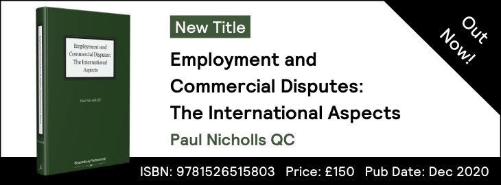 Employment and Commercial Disputes: The International Aspects