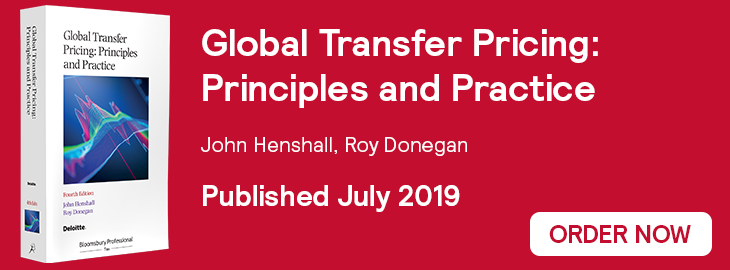 Global Transfer Pricing, 4th Edition Website Banner - Order Now