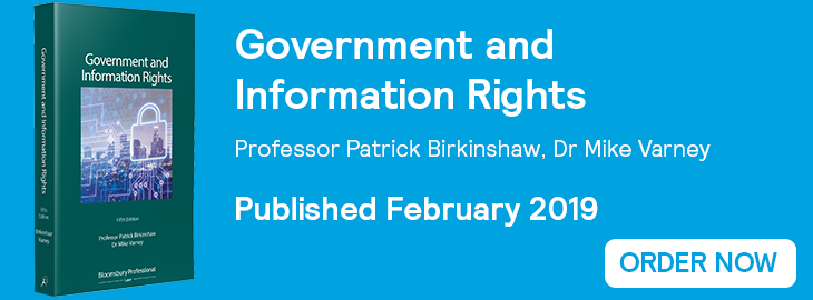 Government and Information Rights Website Banner - Order Now