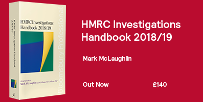 HMRC Investigations Handbook Website Banner 2018