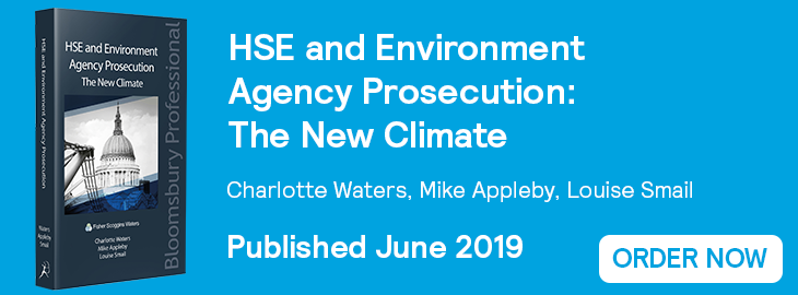 HSE and Environment Agency Prosecution Website Banner