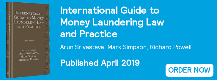 International Guide to Money Laundering - Order Now Website Banner
