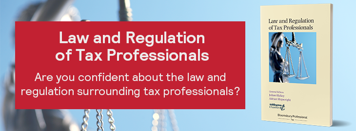 Law and Regulation of Tax Professionals 730x270
