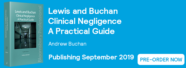 Lewis and Buchan Clinical Negligence - Pre