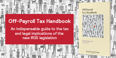 Off-Payroll Tax Handbook Internal Website Banner