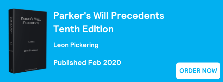 Parker's Will Precedents