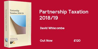 Partnership Taxation Internal Website Banner 2018