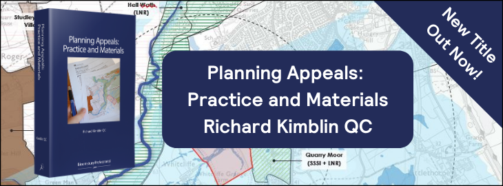 Planning Appeals: Practice and Materials
