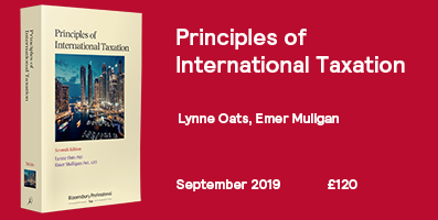 Principles of International Taxation 7th Edition - Internal Banner