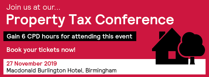 Property Tax Conference Banner 730x270 - Book tickets now