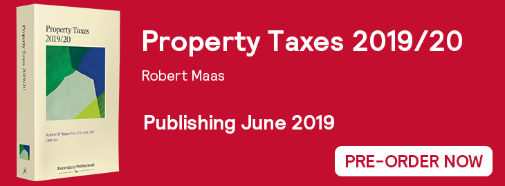 Property Taxes 2019/20 Website Banner - Pre-Order
