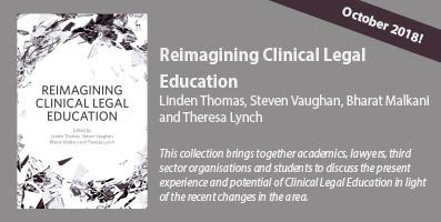 Reimagining Clinical Legal Education banner