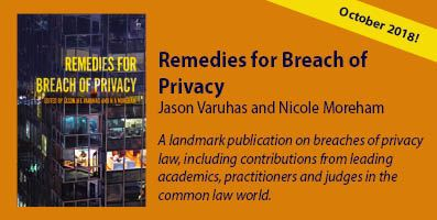 Remedies for Breach of Privacy banner