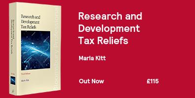 Research and Development Tax Reliefs Website Banner 2018