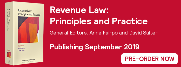 Revenue Law 37th Edition Website Banner