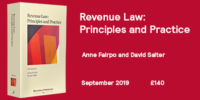 Revenue Law 37th Edition - Internal Website Banner