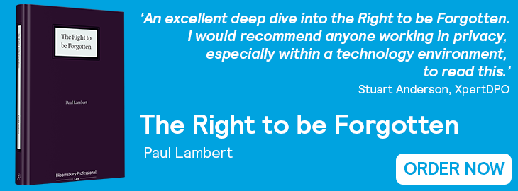 Right to be Forgotten Website Banner - Quote