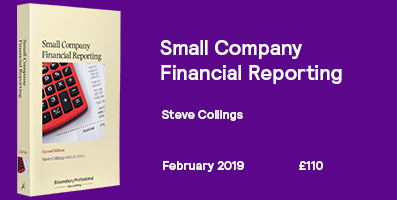 Small Company Financial Reporting Small Website Banner 2019