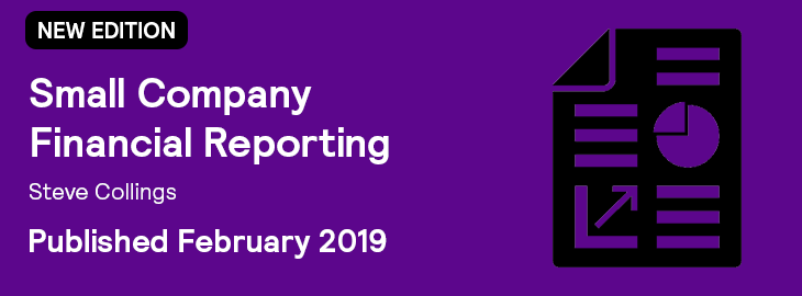 Small Company Financial Reporting Banner 2019