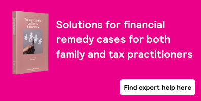 Tax Implications on Family Breakdown - sub page banner
