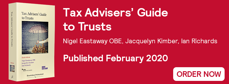 Tax Advisers' Guide to Trusts Out Now 730x270