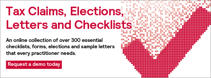 Tax Claims Elections Letters and Checklists Homepage Banner 730x270