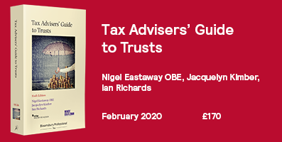 Tax Advisers' Guide to Trusts 6th Edition 397x200