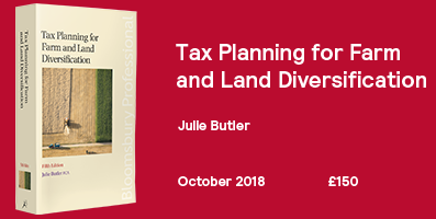 Tax Planning for Farm and Land Diversification Website Banner 2018