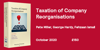 Taxation of Company Reorganisations 6th Edition 397x200