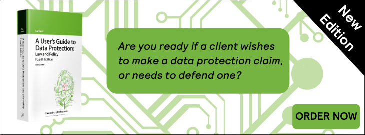 A User's Guide to Data Protection: Law and Policy (4)