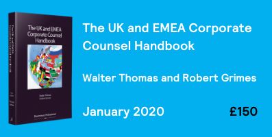 The UK and EMEA Corporate Counsel Handbook - sub page