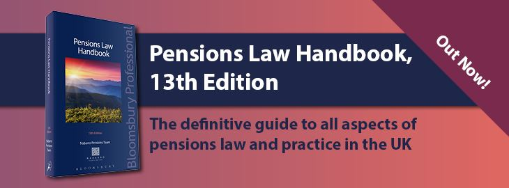 Pensions Law HB