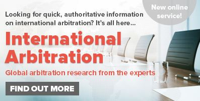 International Arbitration Banner