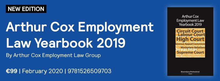 Arthur Cox 2019