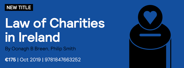 Law of Charities Coming Soon
