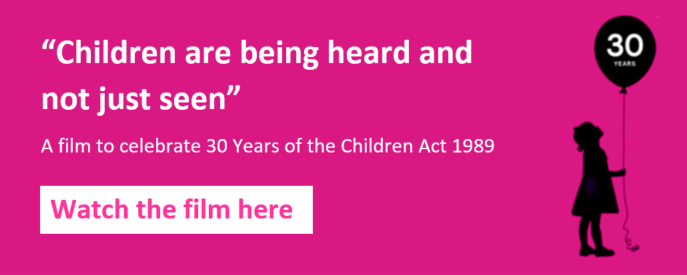 Children heard and not just seen - 30 years