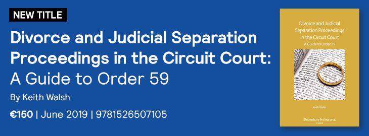 Divorce and Judicial Separation