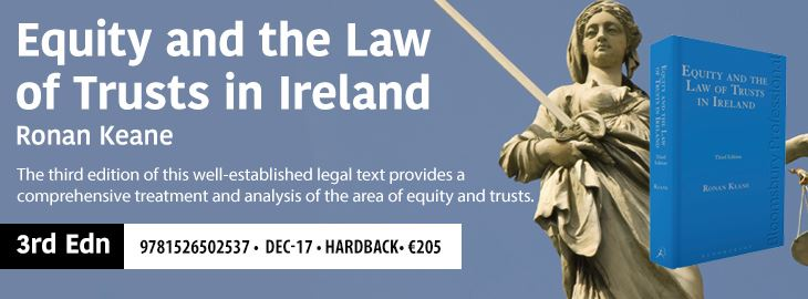 Equity & the Law of Trusts in Ireland 3e