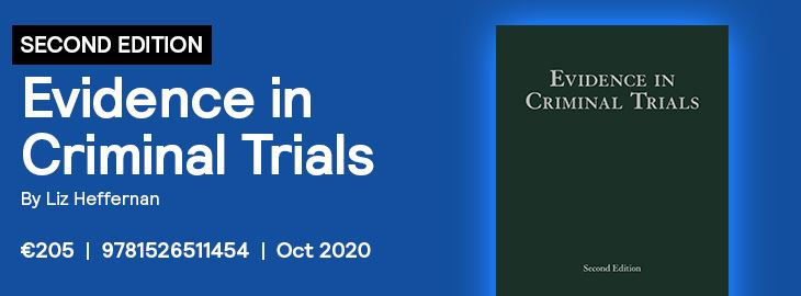 Evidence in Criminal Trials 2020