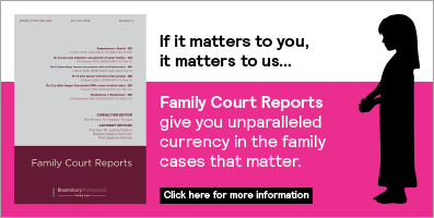 Family Court Reports - small banner