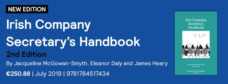 Irish Company Secretary's Handbook
